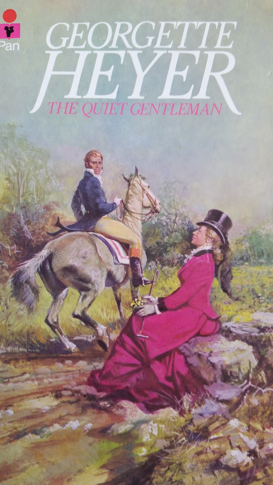 Desperate Reader: The Quiet Gentleman- Georgette Heyer